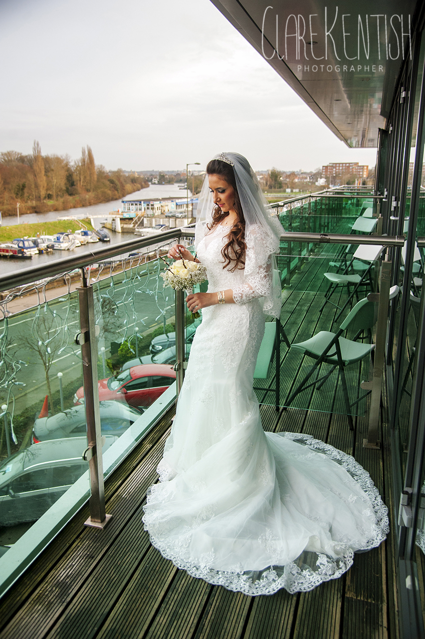 Cinderella & Mo\'s Christmas Wedding in Kingston-Upon-Thames – Clare ...