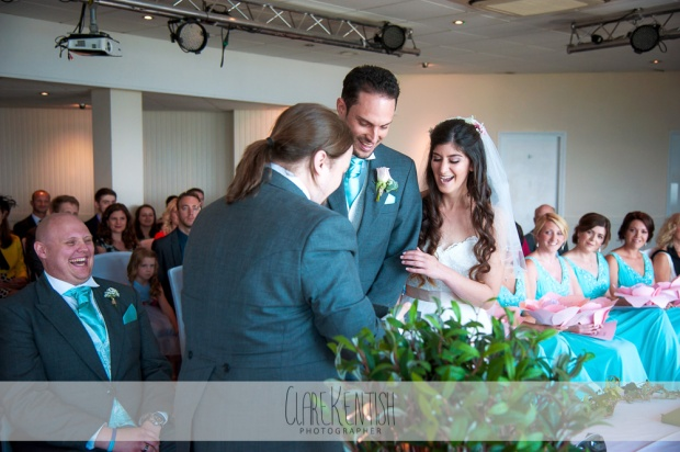 Saz & Adam – A Gaming Inspired Summertime Wedding at the Cliffs ...